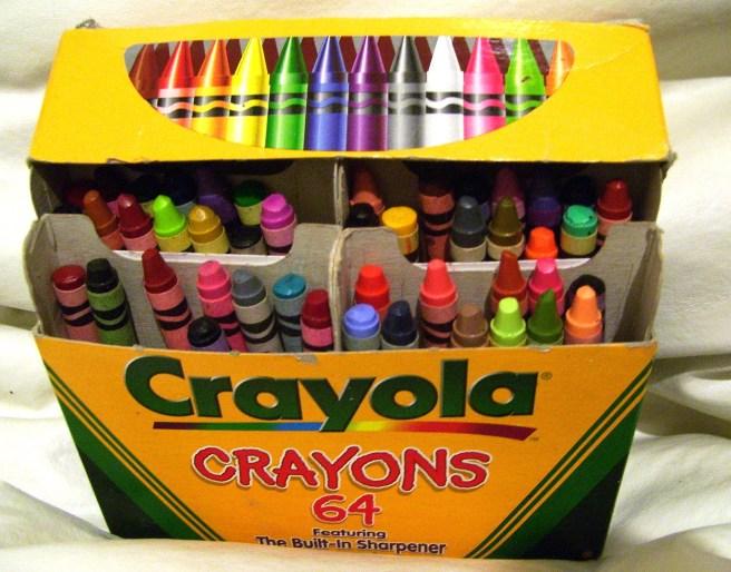 crayon box
