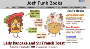 Josh Funk Books Front Page
