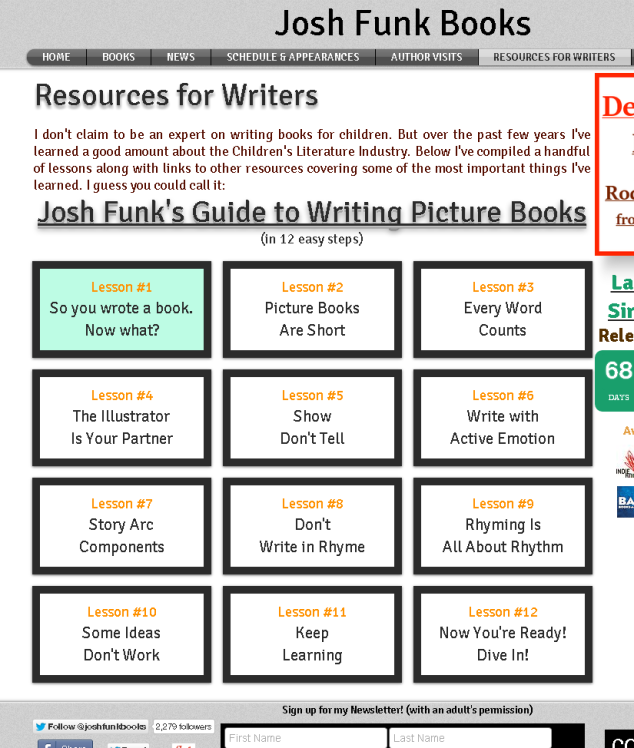 Josh Funk's 12 Step Guide to Writing Picture Books