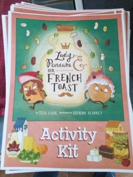 Lady Pancake & Sir French Toast Activity Kits