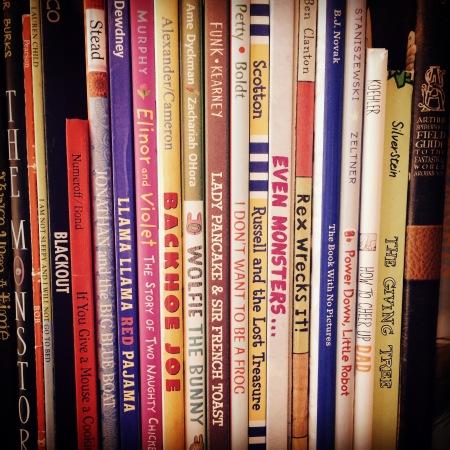 Book Shelf with Lady Pancake & Sir French Toast
