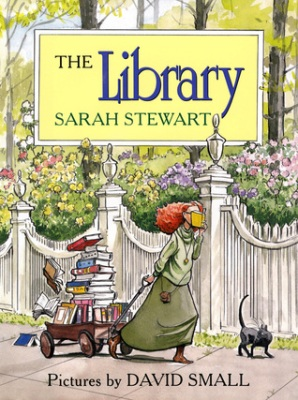 the library by sarah stewart and david small