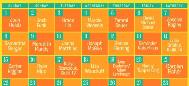 PiBoIdMo 2015 Calendar