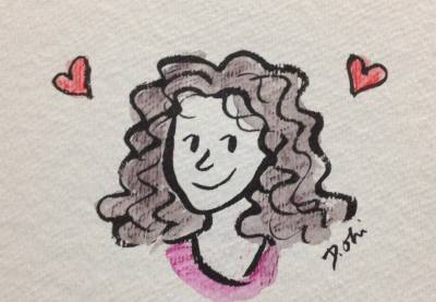 Debbie Alvarez, The Styling Librarian (illustration by Debbie Ohi)