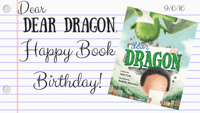 Dear Dragon Book Birthday