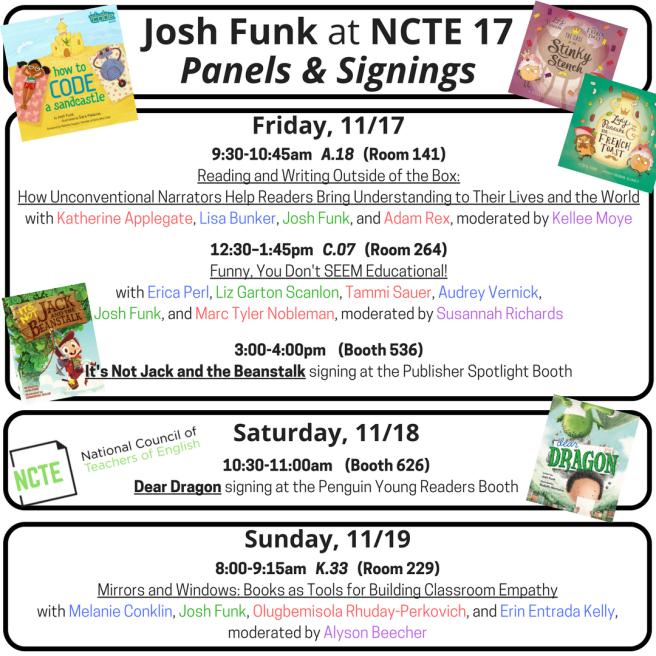 Josh Funk at NCTE 17.png
