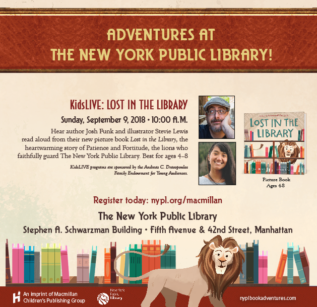 NYPL Event Invite: Lost in the Library