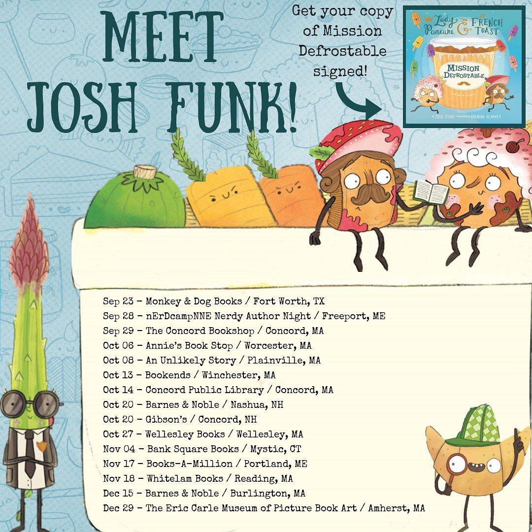 Josh Funk Mission Defrostable Fall 2018 Tour